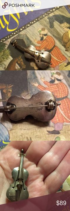 f401777d403 Spotted while shopping on Poshmark  Antique Sterling Silver Violin 🎻!   poshmark  fashion