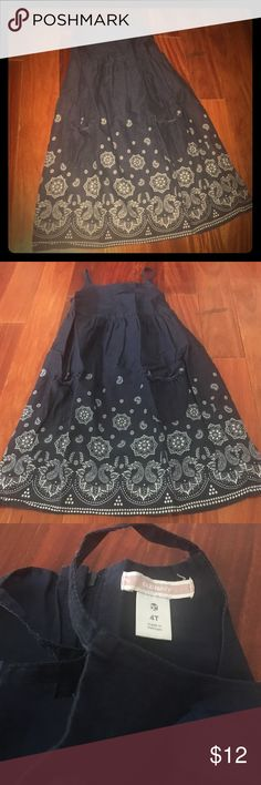 Old Navy blue bandana pattern dress SZ 4T Excellent condition - worn about 5 times.  Always washed cold and line dried only. Old Navy Dresses Casual