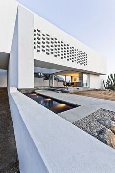 Zacatitos 004 is a minimalist house located in Los Cabos, Mexico designed by Campos Leckie Studio. The home is characterized by a completely...