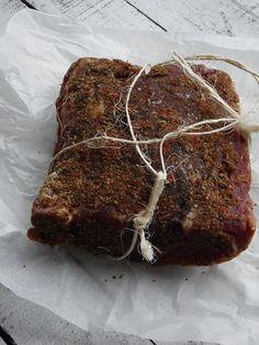 Schab dojrzewający (schab surowy suszony) - Damsko-męskie spojrzenie na kuchnię