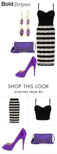 """Untitled #1713"" by nadia-n-pow ❤ liked on Polyvore featuring Burberry, Christian Louboutin, Roberto Cavalli and Carelle"
