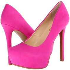 Jessica Simpson Jasmint High Heels, Pink ($61) ❤ liked on Polyvore featuring shoes, pumps, heels, sapatos, zapatos, pink, hidden platform pumps, jessica simpson shoes, heels & pumps and almond toe pumps