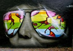 Graffiti 238 by cmdpirxII on DeviantArt Urban Street Art, Best Street Art, Amazing Street Art, 3d Street Art, Street Art Graffiti, Urban Art, Banksy Art, Graffiti Murals, Graffiti Designs