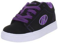 Heelys Straight Up Skate Shoe (Little Kid/Big Kid),Black/Purple/White,5 M US Big Kid Heelys, http://www.amazon.com/dp/B005HEKDF6/ref=cm_sw_r_pi_dp_0tvWqb0N823DF