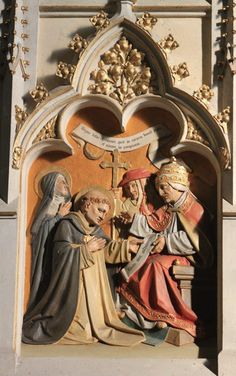 Carving of St. Thomas in the Dominican Church in Friesach, Austria. University Of Santo Tomas, Kingdom Of Naples, Saint Thomas Aquinas, Catholic University, Catechism, St Thomas, Madonna, Carving, Princess Zelda