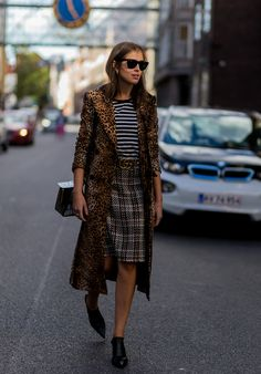 Stripes, Leopard, and Plaid  Unexpected Pattern mixing