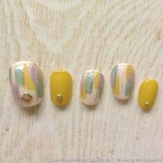 Love Nails, Pretty Nails, Arylic Nails, Fall Manicure, Special Nails, Japanese Nail Art, Young Nails, Feet Nails, Minimalist Nails