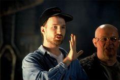 David Fincher on Alien 3. Saga, David Fincher, On Set, Looking Up, Filmmaking, Behind The Scenes, Portrait, People, Aliens