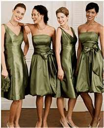 olive green bridesmaid dresses, Cassi likes this dress on the end right hand side for prom