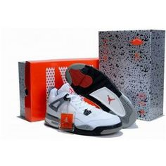 official photos 17b13 74058 Find Nike Air Jordan 4 Mens Retro Limited Edition White Black Grey Shoes  New online or in Footlocker. Shop Top Brands and the latest styles Nike Air  Jordan ...