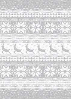 iPhone 5 Wallpaper Christmas Pattern