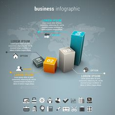Business Infographic Template #design Download: http://graphicriver.net/item/business-infographic/12833723?ref=ksioks