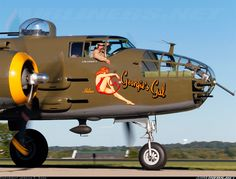 North American B-25J Mitchell aircraft picture .@Jorge Cavalcante (JORGENCA)