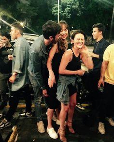 Dakota with her friends