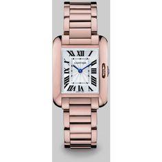 Cartier Tank Anglaise 18k Pink Gold Watch ($22,100)