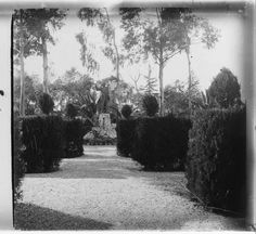 Jardins de Montjuïc :: Fons fotogràfic Salvany (Biblioteca de Catalunya)