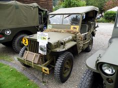 1943 Willys Jeep of the HQ Signals Platoon, 1st Battalion The Herefordshire Regiment, 11th Armoured Division circa 1944/45