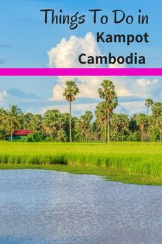 Awesome Things To Do in Kampot Cambodia.