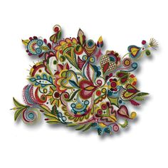 Hand Work Embroidery, Machine Embroidery Patterns, Floral Embroidery, Cross Stitch Embroidery, Tapestry Crochet, Freeform Crochet, Diy Broderie, Sewing Alterations, Art Du Fil