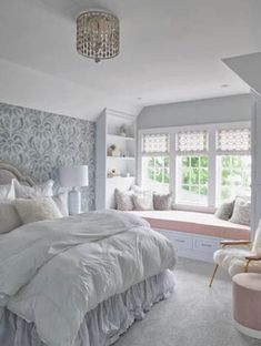 Teen Bedroom Interior Design Ideas Color Scheme Decor Ideas 25 Room Design Ideas For Teenage. Modern Bedroom, Bedroom Decor, Bedroom Rustic, Bedroom Themes, Bedroom Black, Master Bedroom, Bedroom Furniture, Seating In Bedroom, Window Seats Bedroom