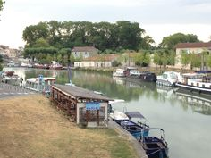 The Canal du Midi winds through the Aude region, only 15 minutes from Trausse.