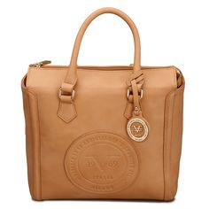 f23263cabf Look at this Versace 1969 Tan Milan Satchel on today!