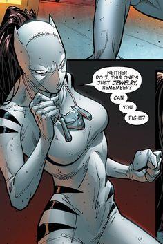 book white comic tigress #6