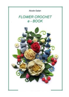"e-book ""FLOWER CROCHET"""
