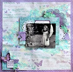 Dream Wish Believe - Kaisercraft Fairy Dust. Cathy Cafun