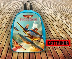 Fantastic Movie Fire and Rescue Sky Custom With Name Design for School Bag Backpack for Children Small size Middle size Large size