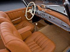 Mercedes-Benz 190 SL innenraum