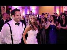 Newlyweds Bride Brie & very reserved Groom Evan's a'Mazin surprise first wedding dance!