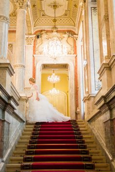 Chandelier Wedding, Vienna, Austria, Stairs, Profile, Europe, Photography, Ladders, User Profile