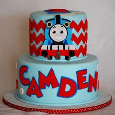 Top tier for a smash cake. Very cute!