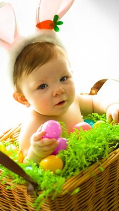 EASTER BABY PICTURE IDEA-Brycen photo credit to Studio GA