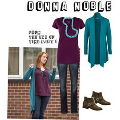 I have been assigned Donna Noble as my Dr Who character for Halloween at work.  I think I can put this together pretty easily.