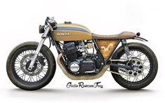 CB750 Concept | Inazuma café racer - wooden side covers