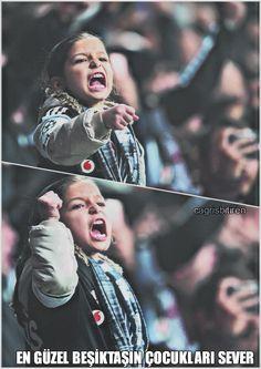 En güzel Beşiktaşın çocukları sever
