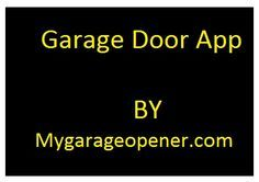 Swap your old garage door remote with the latest app i.e. #smartphonegaragedooropener. Visit Google play store and download free app known as #OpenSesame.