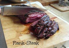 ich hab da mal was ausprobiert: Flank - Steak