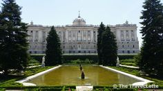 Garden of the #royal #palace in #Madrid.