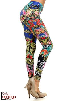 TOP RETAILER - Tribal Leggings at World of Leggings include some of the very best in Aztec Leggings, Native Indian Leggings, Mayan Leggings, Tribal Print Leggings, Native Leggings in hundreds of styles and colors. Tribal Print Leggings, Printed Leggings, Colorful Leggings, Printing On Fabric, Summer, How To Wear, Pants, Fashion Design, Clothes