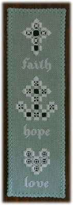 Faith, Hope & Love Bookmark