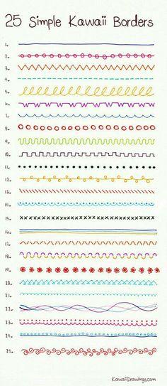 Puntos básicos de bordados...