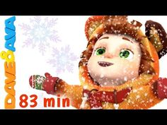 Ten Little Snowflakes | Christmas Songs for Kids | Nursery Rhymes from Dave and Ava - YouTube