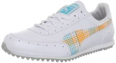 Everfoam technology on these great looking womens cat 2 g wns golf shoes by Puma adjusts and molds to the contour of your feet