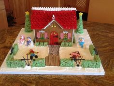 Gingerbread 2014 - 1, Christmas Snow Angel House.