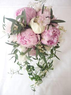 Peonie wedding bouquet  www.georgemackayflowers.com