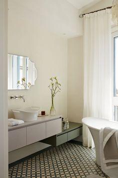 Villa en Sotogrande - La Albaida.Interiorismo.lujo.marbella Villa, Vanity, Bathroom, Waste Container, Cubes, Studio, Interiors, Dressing Tables, Washroom