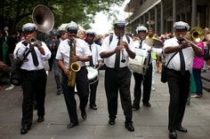 New Orleans Second Line - I Run For Wine: Our Wedding Day in photos - New Orleans